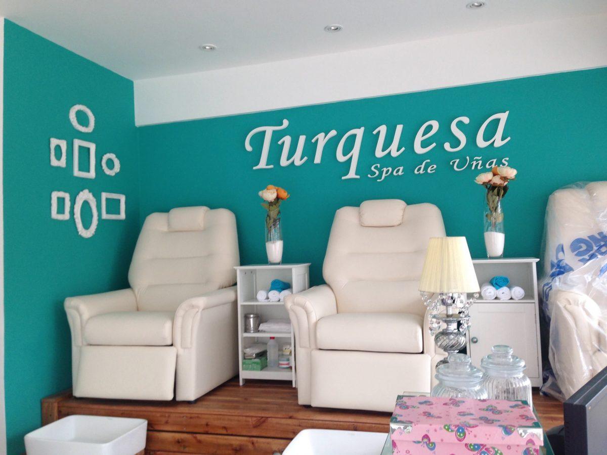 Turquesa Spa De Unas Soy Canning